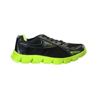 Yepme Smash Sports Shoes - Black & Flourescent Green