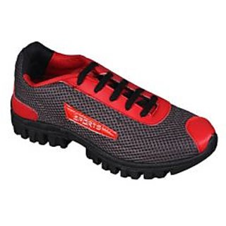 Yepme Hedge Sports Shoes - Red & Grey
