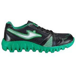 Yepme Bound Sports Shoes- Black & Green
