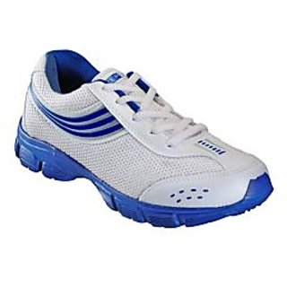 ShopClues: Yepme Intrepid Sports Shoes – White & Blue @458