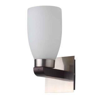 LeArc Designer Lighting Contemporary Glass Metal Wood Wall Light WL1421
