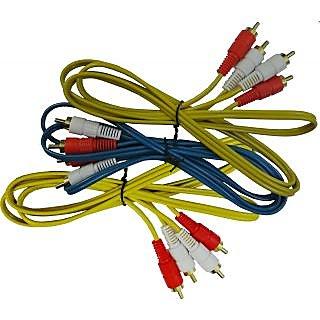 Quartz 2 RCA Cable(SET OF 3)