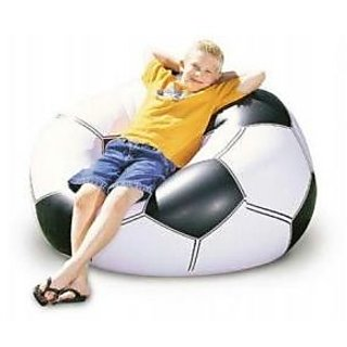 Football Shape Beanless Bag For Kids
