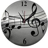 DESIGNER WALL CLOCK MUSIC SIGN DESIGN FROM MAGPIE