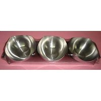 Set Of 3 Nut Bowls With Steel Tray From Magpie
