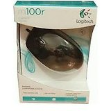 Logitech Mouse m100r - Two nos.