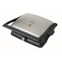 BRANDED 4 SLICE SANDWICH MAKER / GRILL