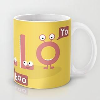 Astrode Monster Hello Mug