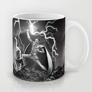 Astrode Tesla God Of Thunder Mug