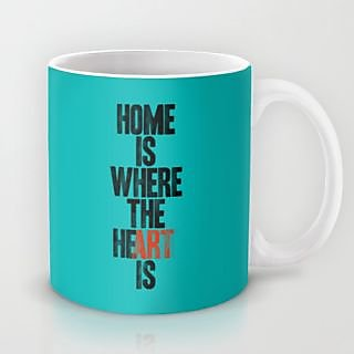 Astrode Home Is Where The He(Art) Is Mug