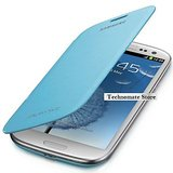 Samsung Galaxy S4 Flip Case Cover Blue Color Flip Cover