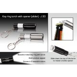 Key Ring Torch With Opener (slider)