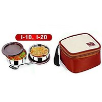 Stenso I10 Lunchbox With Ss Containers And Insulated Puch