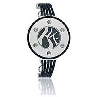 Round Dial Analog Display Women Watch with Band - 6008SL02