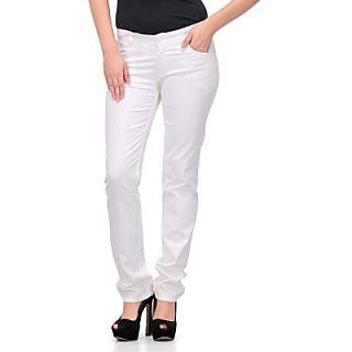 White Formal Women Trouser