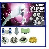 NEW MAGIC MASSAGER WITH 7 ATTACHMENT INFRARED VARIABLE SPEED FULL BODY MASSAGER