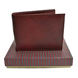 SkyWays Men's Brown Wallet (WLT-2-BRN)