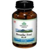 Organic India Breathe Free 60 Capsules Bottle