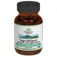 Organic India Sugar Balance 60 Capsules Bottle