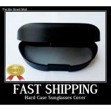 Hard Plastic Case Sunglasses Spectacles Goggles Universal Cover Holder Box Black