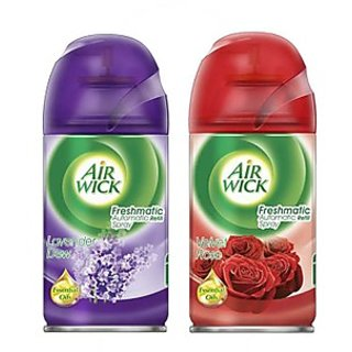 Airwick Freshmatic Refill Combo  Lavender Dew - Velvet  Rose