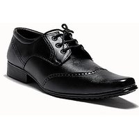 AT Classic Mens Black Lace-up Formal Shoes