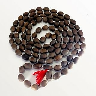 Siddh Dhan Lakshmi Kamalgatta Mala - KAMAL GATTA MALA 108+1 Beads / Lotus Seed R