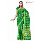 Pastel Green Arificial Silk Zari Party Wear Saree PS227