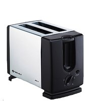Bajaj Majesty ATX 3 750 W Pop Up Toaster  (Silver and black)