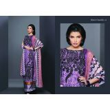 Embroidered Blackchantliy Designer Suits -fariha Fab