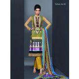 Embroidered Tribal Art Designer Suits -fariha Fab