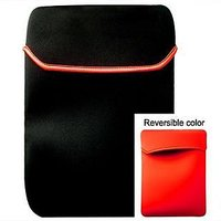 "17"" Inch Reversible Neoprene Netbook Laptop Sleeve Case Cover Sleeves Bag For 17 17.1 17.2"