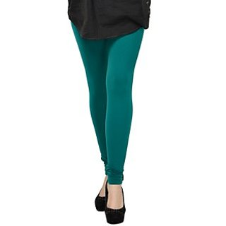 Kjaggs Cotton Lycra Rama Green Legging -KTL-12