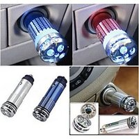 Mini 12V Car Auto Air Ionizer Purifier Refresher Deodorizer Oxygen Bar Freshner