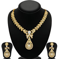 Sukkhi Gold Plated Gold Gold Necklace Set For Women