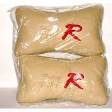 Neck Rest Pillow Fibre Filled Soft Cloth Fine Quality