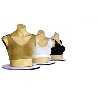 Air Bra - Set of 3 Black,White, Skin Colour + WITH FREE ALLUMA WALLET