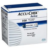 Accu-Chek Aviva Test Plus Strips 100 Count