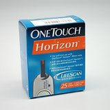 25 Test Strips For OneTouch Horizon Glucose Meter (25 Test Strips)