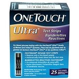 25 Test Strips For OneTouch Ultra Glucose Meter (25 Test Strips)