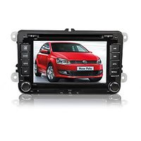 VOLKSWAGEN POLO SPECIAL DOUBLE DIN DVD - 7 INCH HD LED TOUCH SCREEN BLUETOOTH GPS WITH FREE 3D MAPS