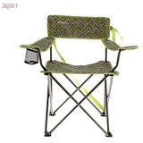 Camping And Outdoor Arm Chair Green And Brown