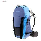 Trekkers 50 Litres Professional Backpack Blue