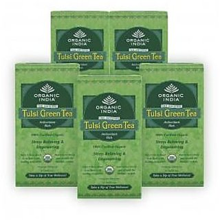 Pack of 5 Tulsi Green 25 TB