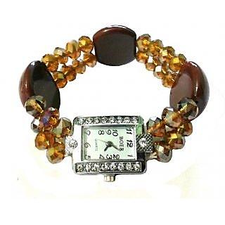Brown Bracelet Watch - 709