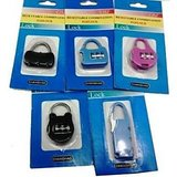 Resettable Combination Pad Lock For Bags, Luggage, Zippers Buy 1 Get 1 Fre