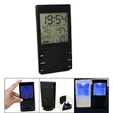 Stylish Big LCD Weather Forecast Station Hygrometer Thermometer Alarm