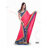 CHIFFON SAREE IN DOUBLE SHADES          SAN-559