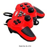 Frontech Jil 1731 USB Force Feedback Game Pad Computer Laptop PC Gaming