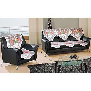 set of 10 pcs floral net sofa cover prices in india